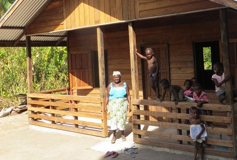 Dignified dwellings for Suriname's Amerindian and Maroon communities