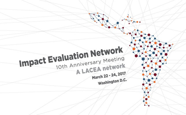 Don't miss the 10th anniversary meeting of the Impact Evaluation Network