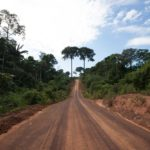 Road in Acre Forest, Brazil