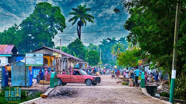 El impacto humano de la luz solar en Haití