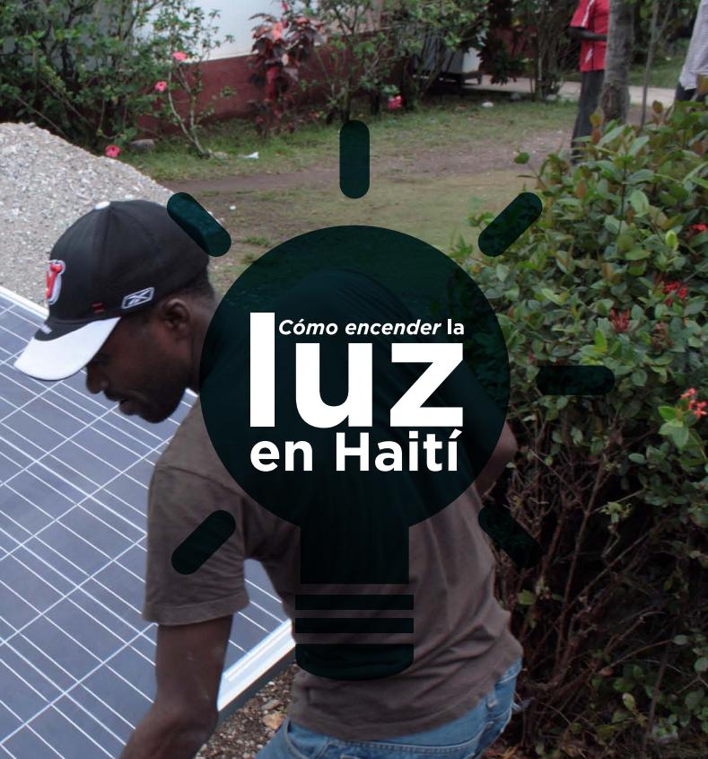 Cómo encender la luz en Haití