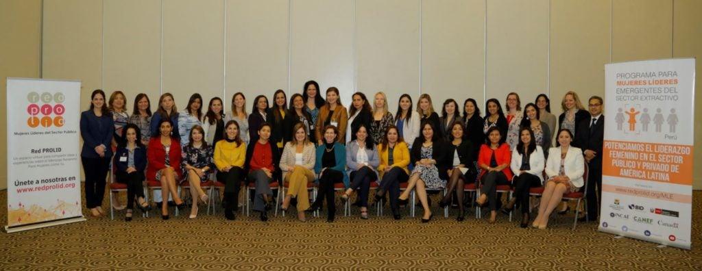 El Sector Extractivo del Perú potencia su talento femenino