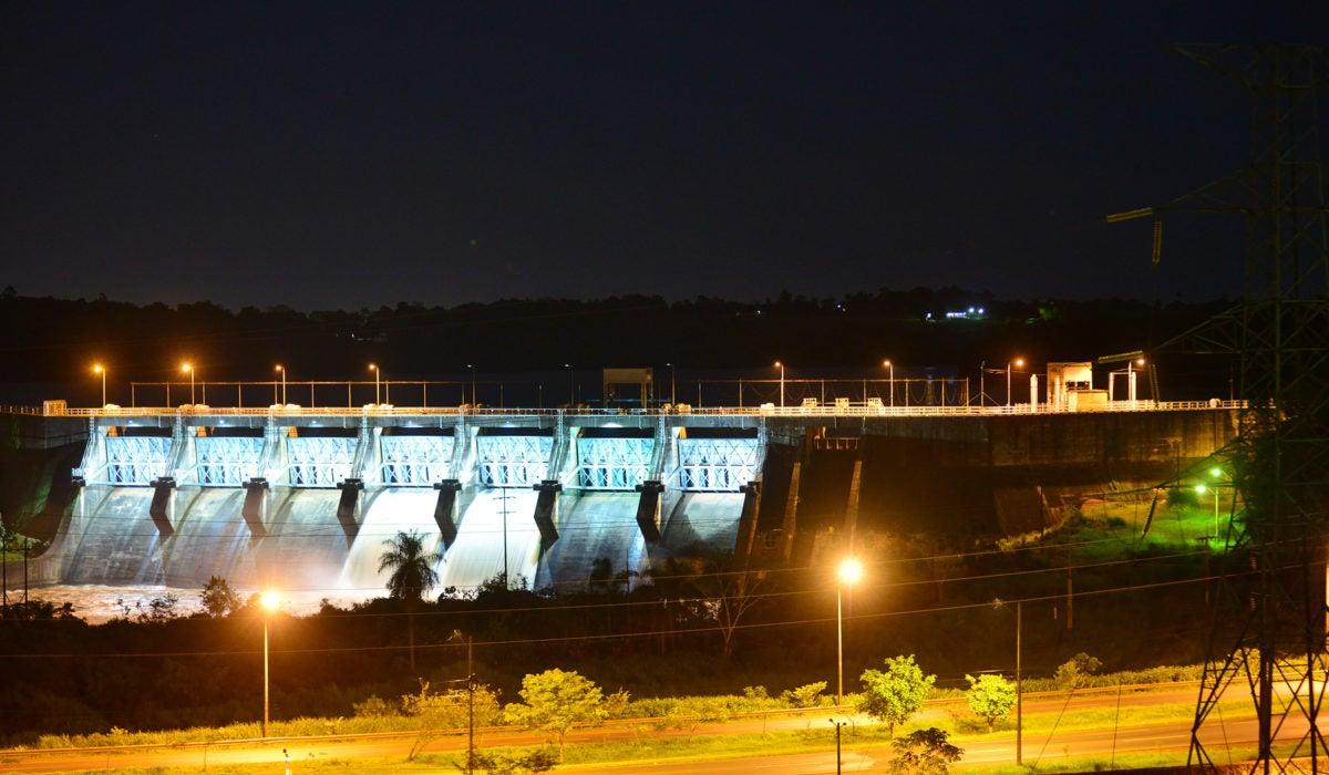 Acaray, fuentes hidroeléctricas en Paraguay