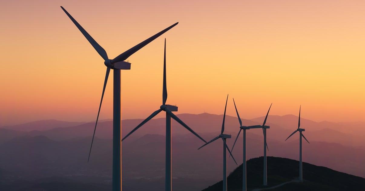 Aspas energía eólica