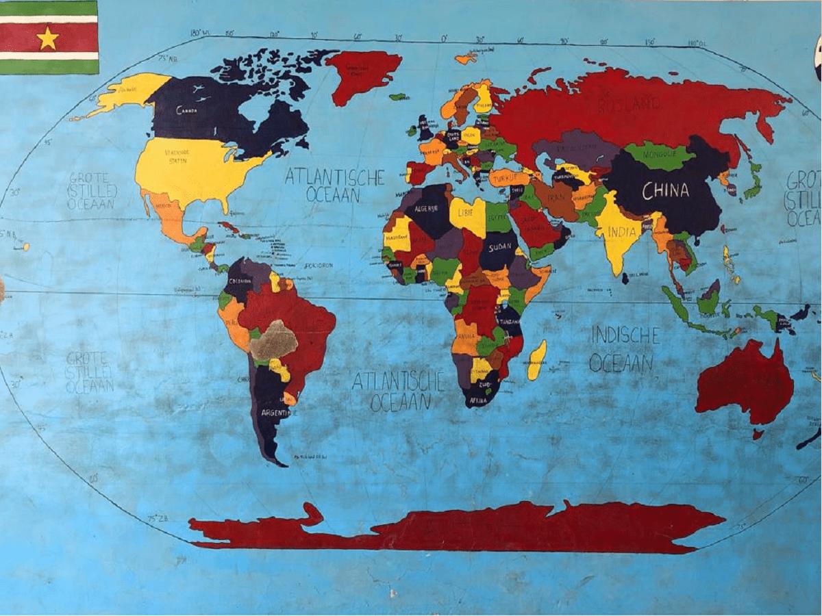 Pokigron's shool map