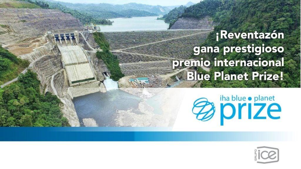 El Proyecto hidroeléctrico más grande de Centroamérica, financiado por el grupo BID, galardonado con el Blue Planet Award