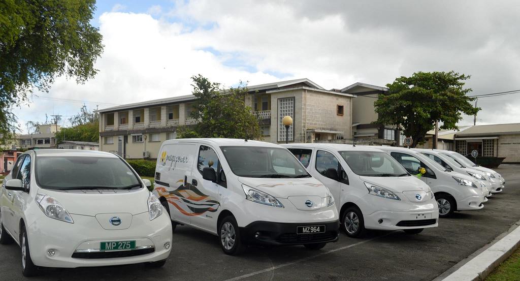 Autos eléctricos en Barbados