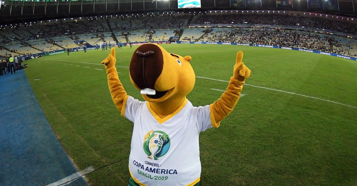 Mascota Copa Oro 2019