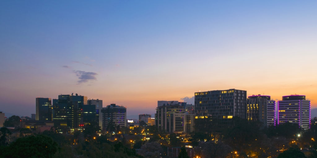 Ciudad de Guatemala. Sector eléctrico guatemalteco