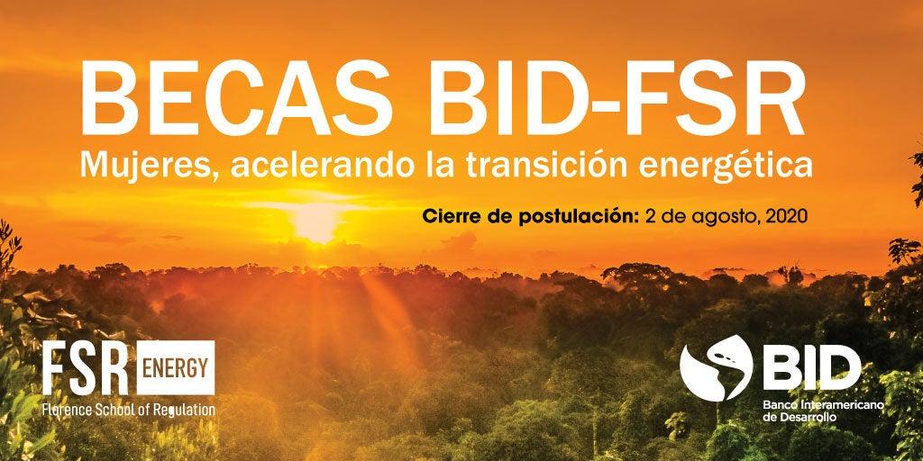 Beca de estudio para mujeres con interés en la transición energética en América Latina y el Caribe