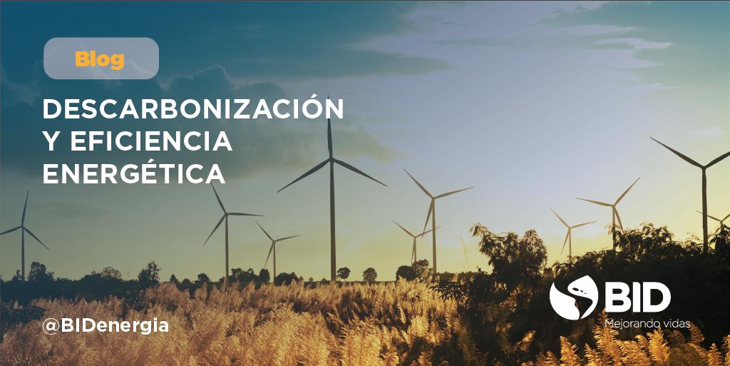 Descarbonización-eficiencia