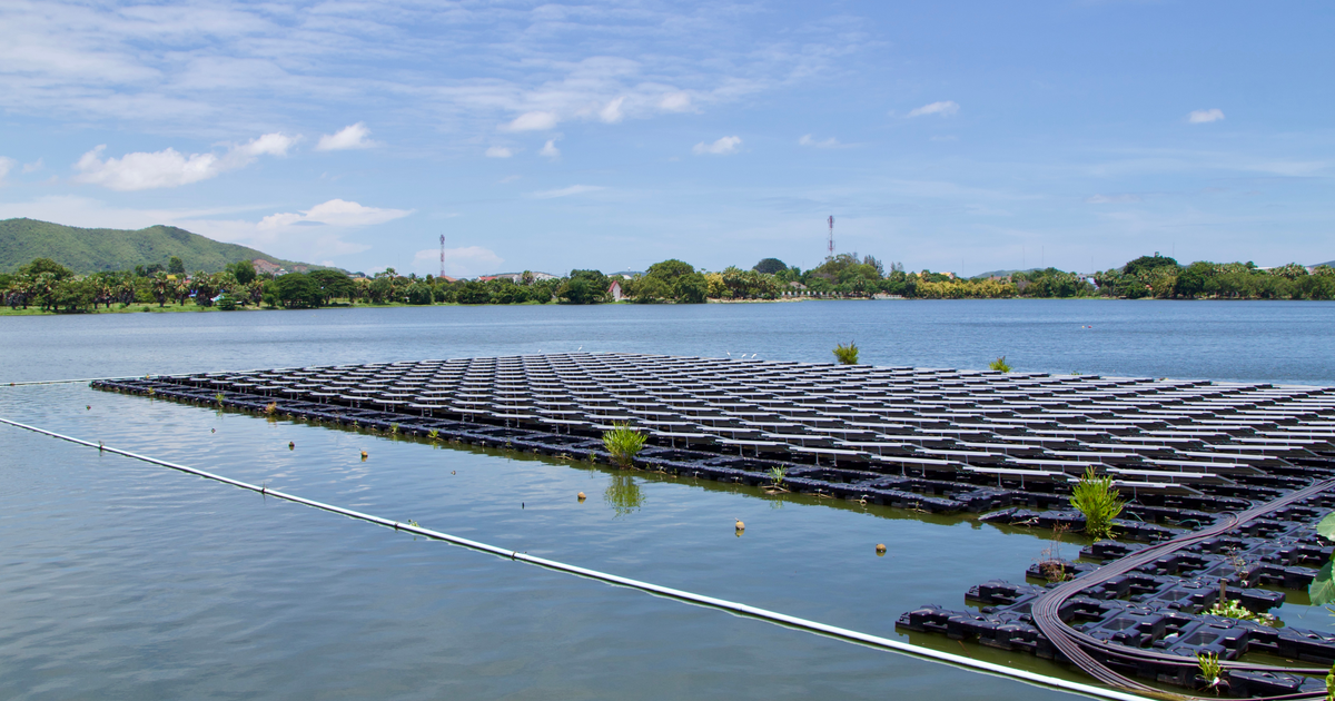 Solar floating photovoltaic
