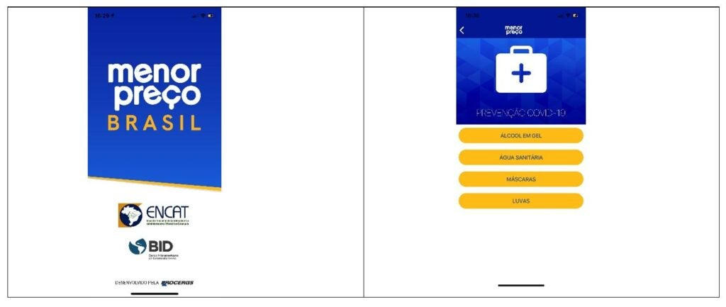 App Menor precio Brasil