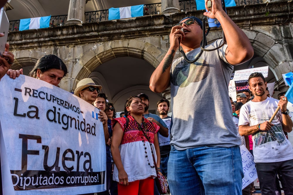 Guatemala: The Crisis of Rule of Law and a Weak Party System