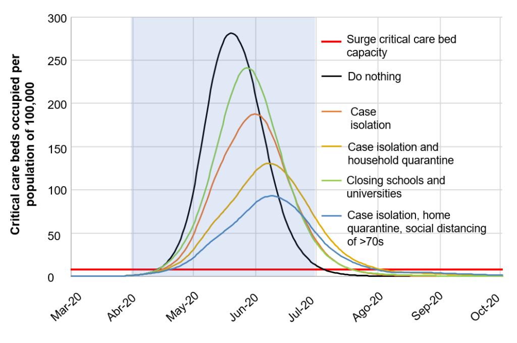 Public policies for mitigation can flatten the coronavirus curve in Latin America