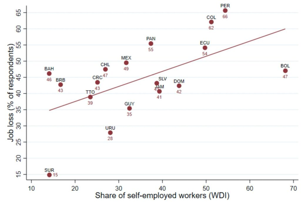 Job Loss and Self-Employment