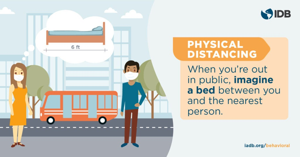 IDB Behavioral Economics - Physical distance