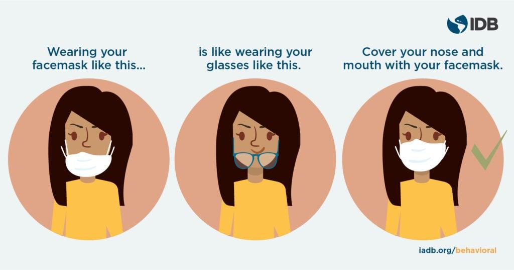 IDB Behavioral Economics - Wear facemask