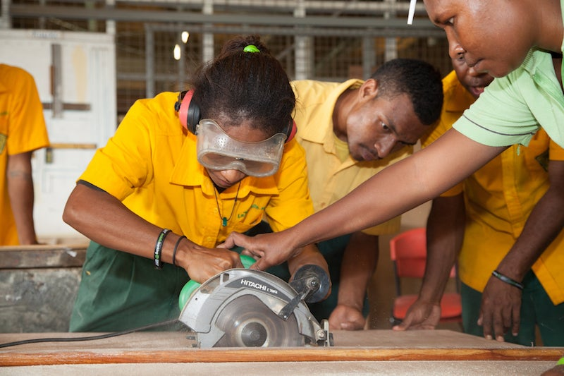 Poniéndose al día con las habilidades para el mercado laboral