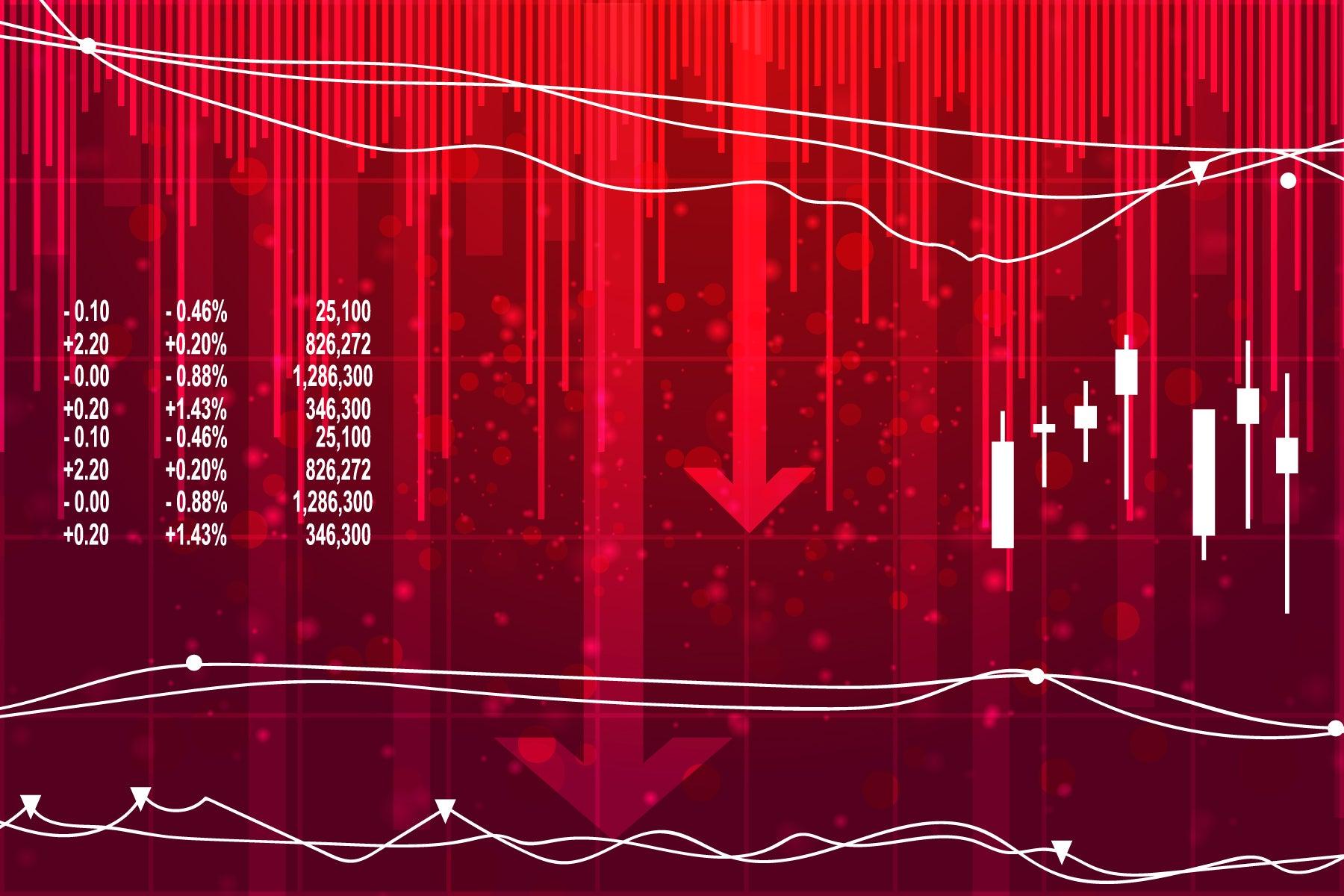 Las recesiones particularmente severas a menudo implican el empeoramiento de las condiciones crediticias que hacen que las empresas abandonen el mercado.