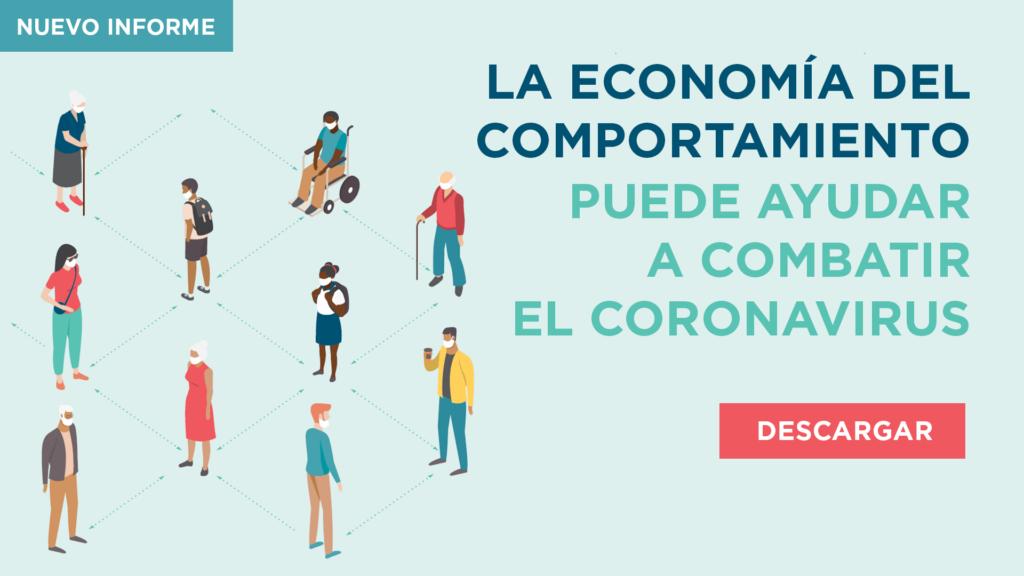 Economía Comportamiento Coronavirus Conductual políticas banner