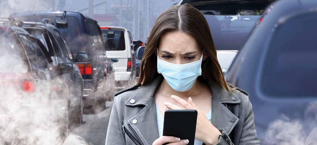 contaminación aire cambio comportamiento