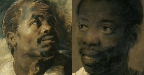 """Two Moors"" by Rembrandt, just good intentions?"