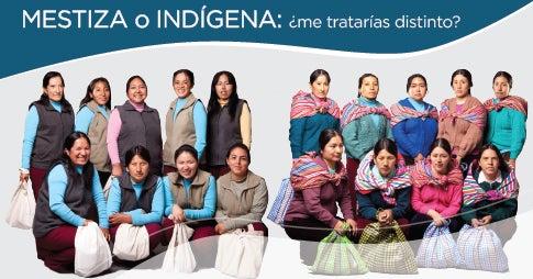 Mestiza o indígena: ¿me tratarás distinto?