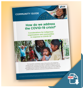 Considerations for indigenous organizations and communities in response to COVID-19