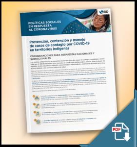 PDF con recomendaciones para pueblos indígenas ante la crisis del COVID-19