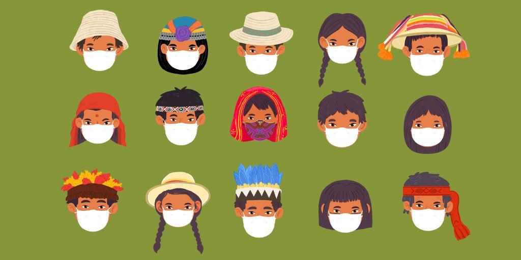 Guía del BID para pueblos indígenas.COVID-19