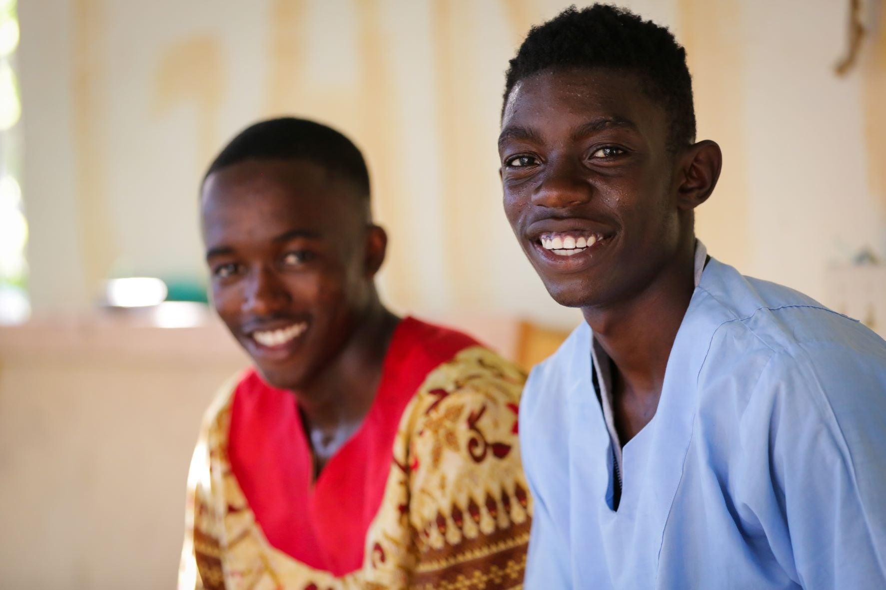 Two African Descendant men smiling