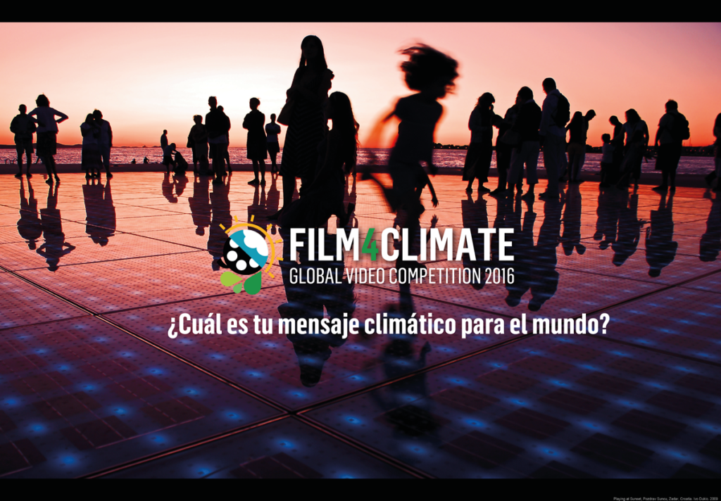 ¿Cuál es tu mensaje al mundo de acción por el clima?