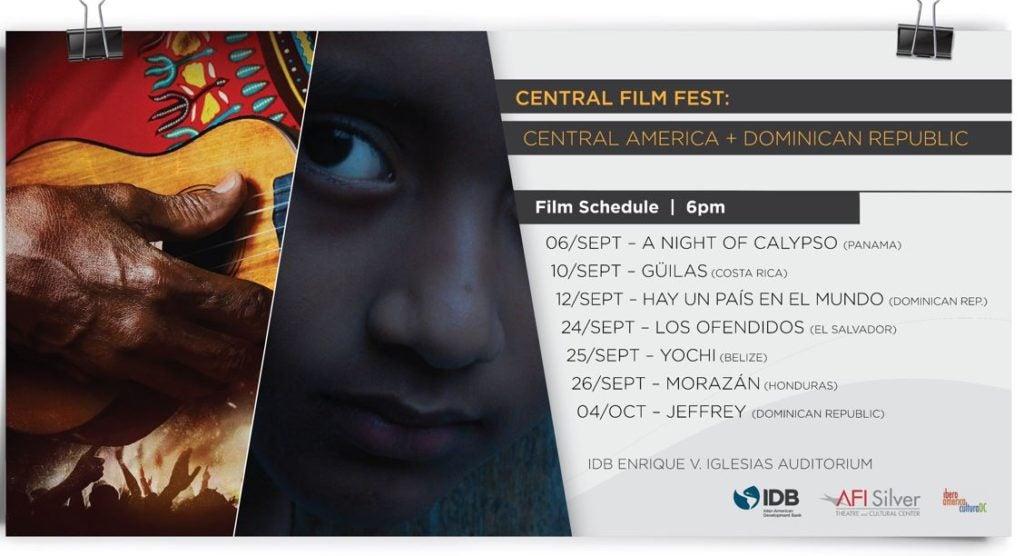 Central Film Fest. Centroamérica en la pantalla grande