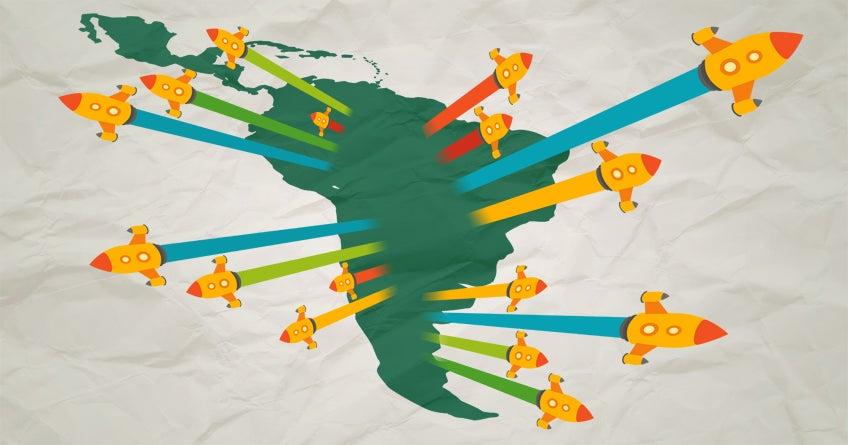 Lasbrechas abiertas del emprendimiento en América Latina