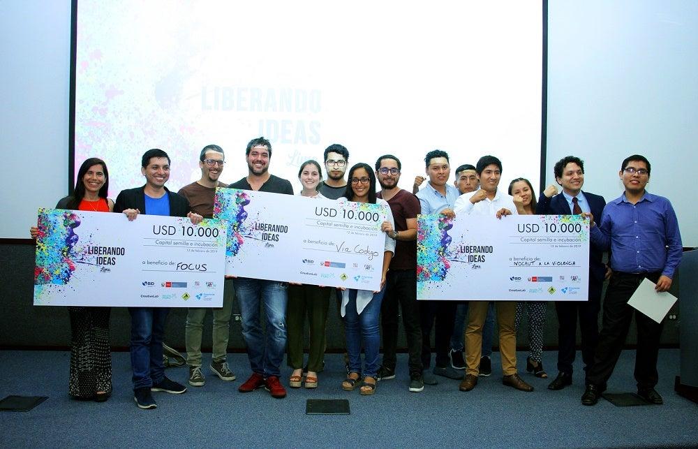 ganadores de liberando ideas lima