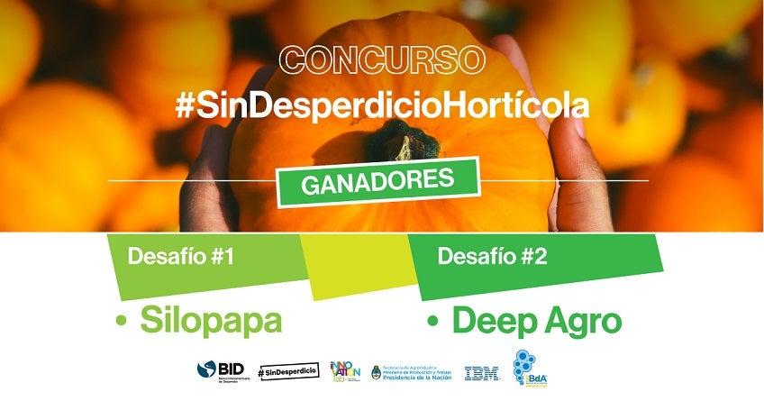 Tecnología contra las pérdidas de alimentos: Conoce a los ganadores de #SinDesperdicioHortícola