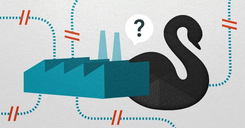 Problemas en la fábrica: COVID-19, un cisne negro para las cadenas de valor