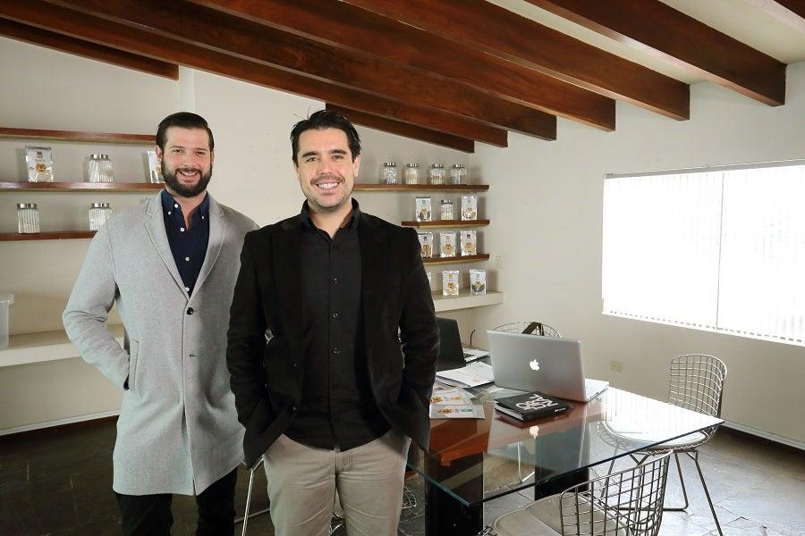 """Sebastián y Aurelio, fundadores de """"Santu"""""""