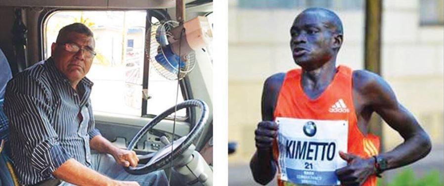 Un camionero y un maratonista emprenden un viaje de México a Panamá, ¿quién llegará primero?