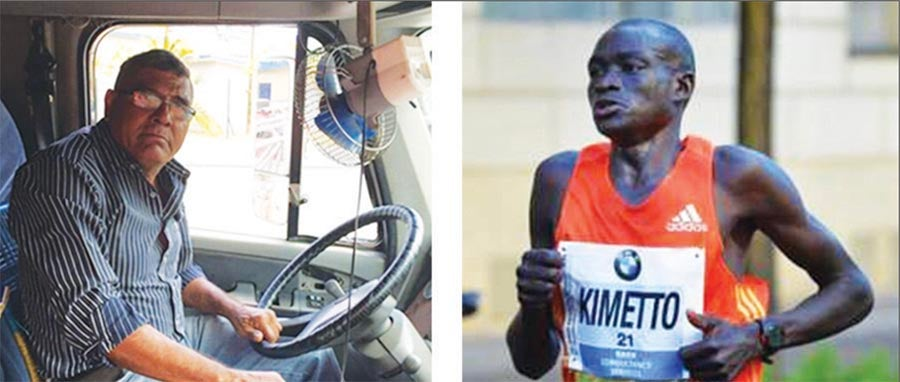 Who Would Arrive First on a Trip between Mexico and Panama: A Marathon Runner or a Truck Driver?