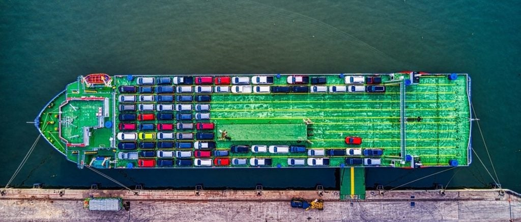 What global ports did to become more efficient