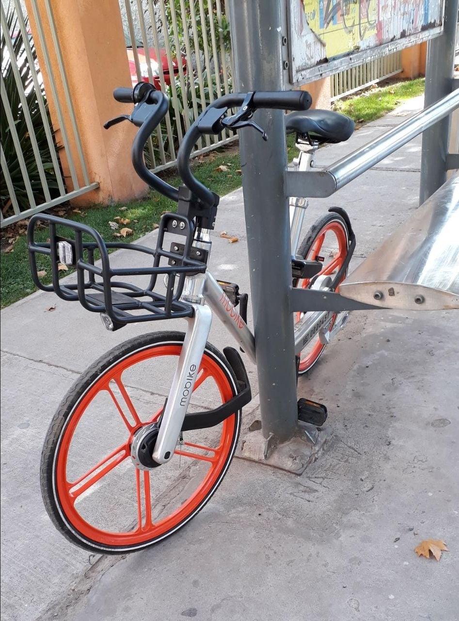 bicicletas sin anclaje