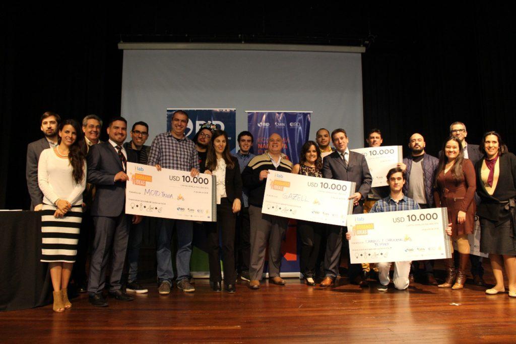 ganadores del concurso rodando ideas