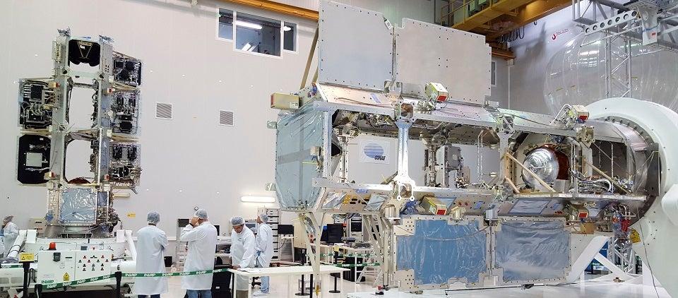 satélite argentino SAOCOM
