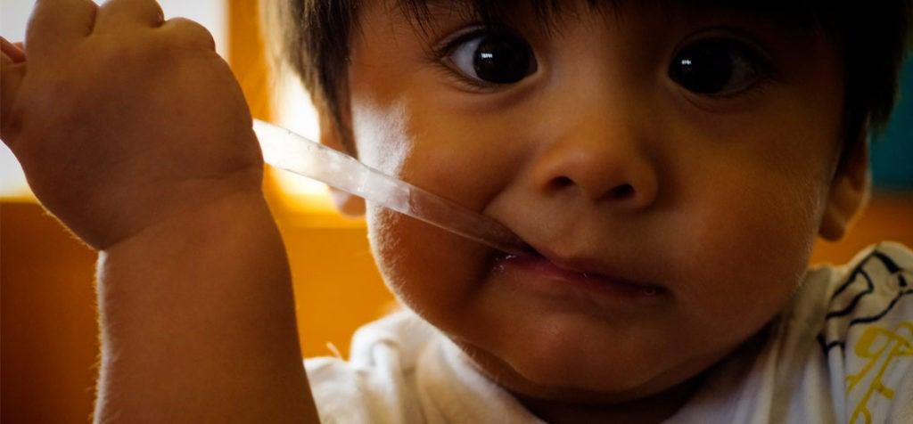 ¿Cómo puede un niño estar gordito y desnutrido?
