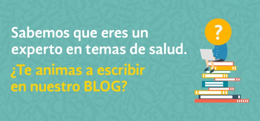 Te invitamos a escribir en el blog de salud del BID
