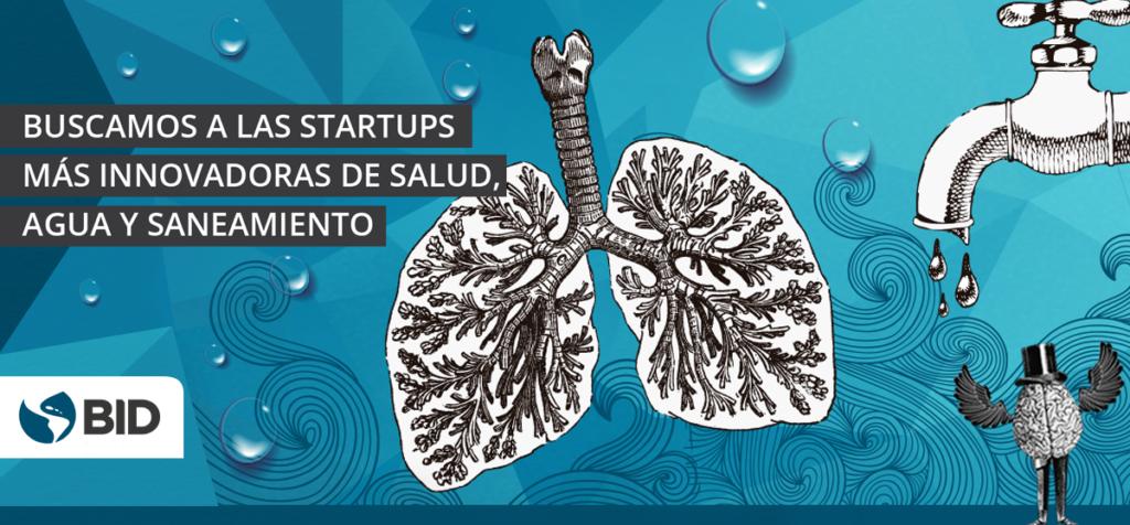 Oportunidad para startups innovadoras de salud, agua y saneamiento
