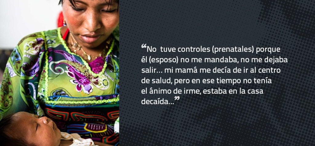 La violencia durante el embarazo de las mujeres indígenas