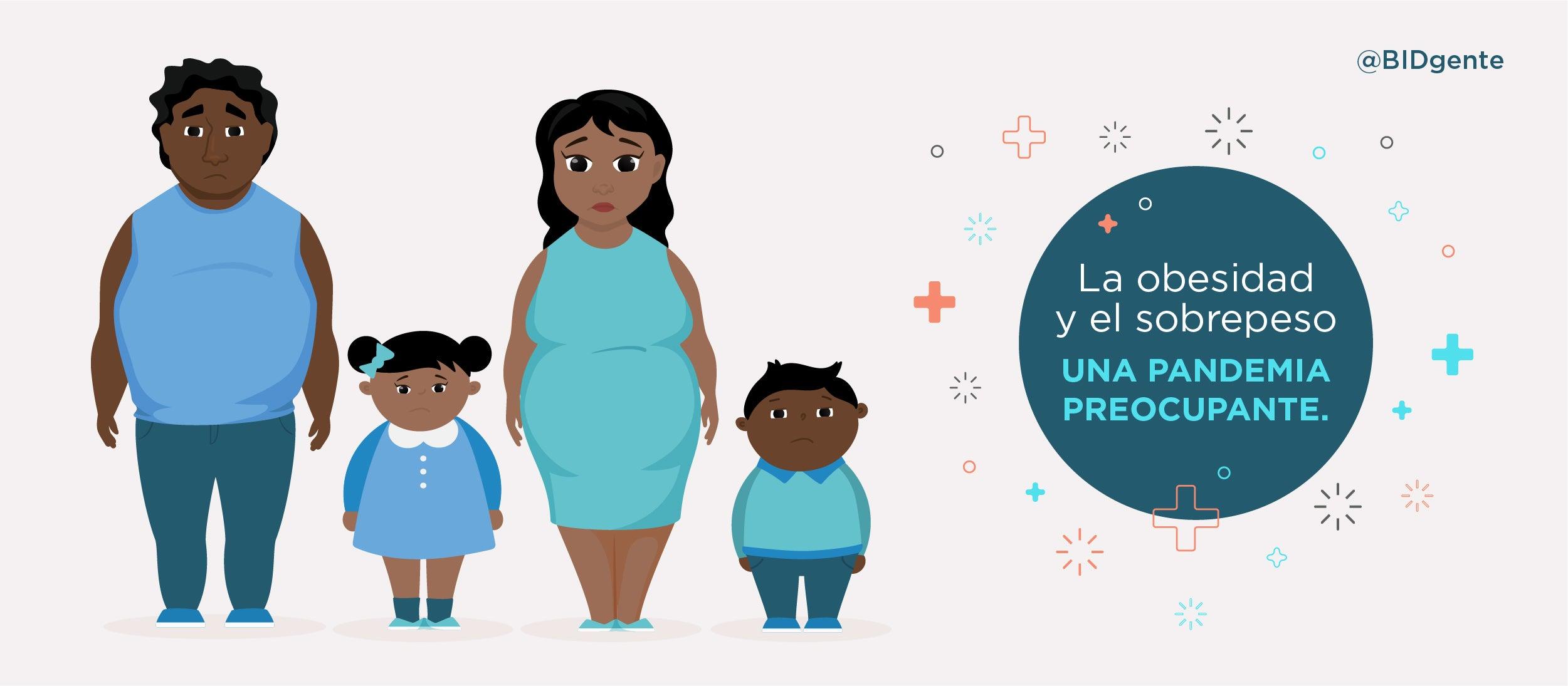 como ayudar a ninos obesos
